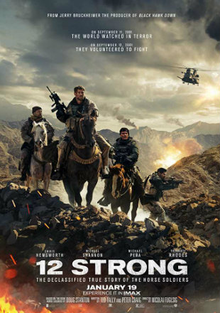 12 Strong 2018 Full HD 1080p English Movie Download world4free