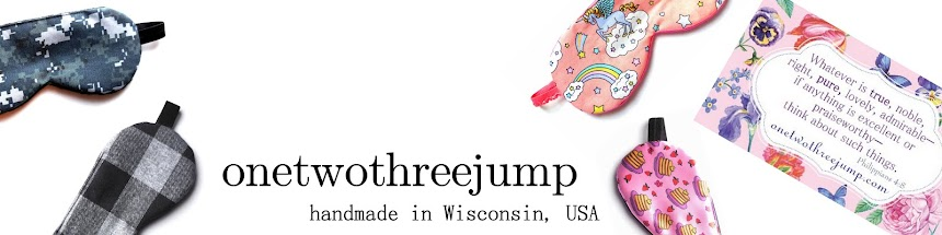 ​ ♥ onetwothreejump shop - portfolio - handmade in the USA ​ ♥