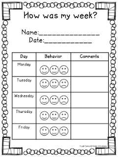 https://www.teacherspayteachers.com/Product/Elementary-Weekly-Behavior-Log-2125726