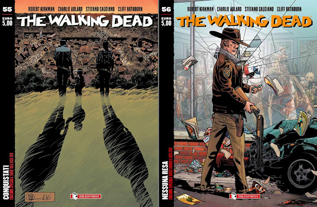 The Walking Dead: variant #55 (Zombie Walk) e variant #56 (Robert Kirkman a Lucca)