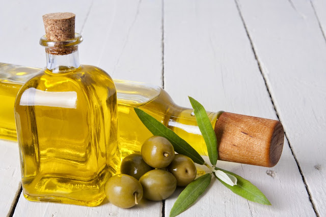 aceite de oliva en la cocina de la abuela