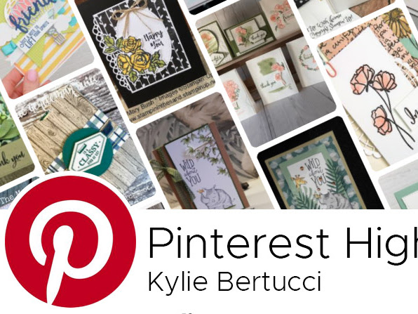 Pinterest Highlights - Featuring the Buffalo Check Stamp Set