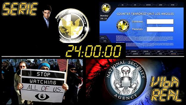 Profecias série 24 Horas - Centrais de espionagem