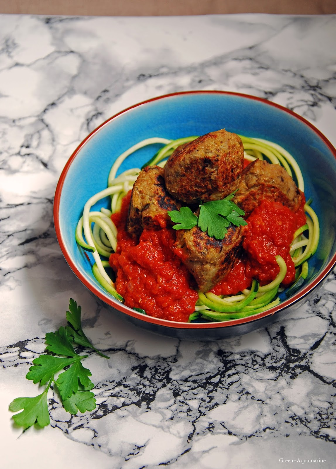 Skip the meat and make these tasty aubergine power balls. Via @eleanormayc