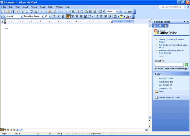 ms office 2003 filehippo