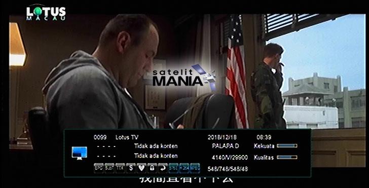 Lengkap Daftar Satelit Yang Menyiarkan Channel Lotus TV