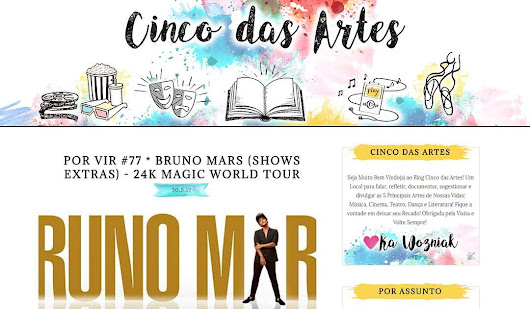 {Blog Design} Cinco das Artes