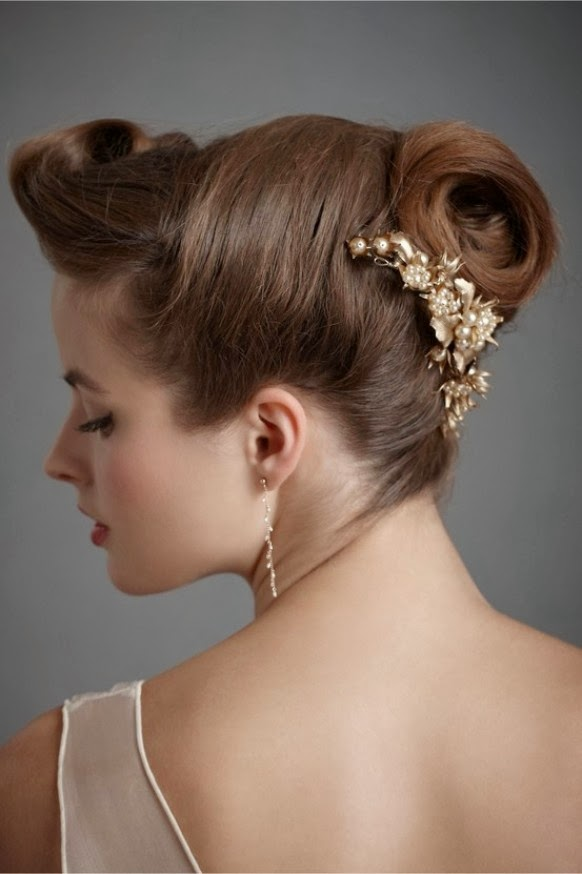 stylish wedding hairstyles .