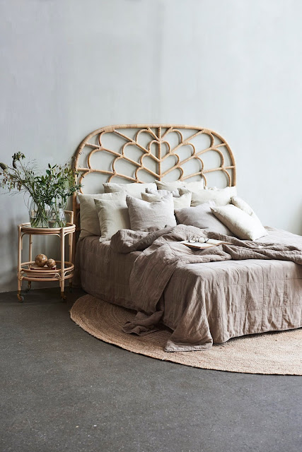 Rattan, Cane, Bamboo, Vintage Headboard Round-Up