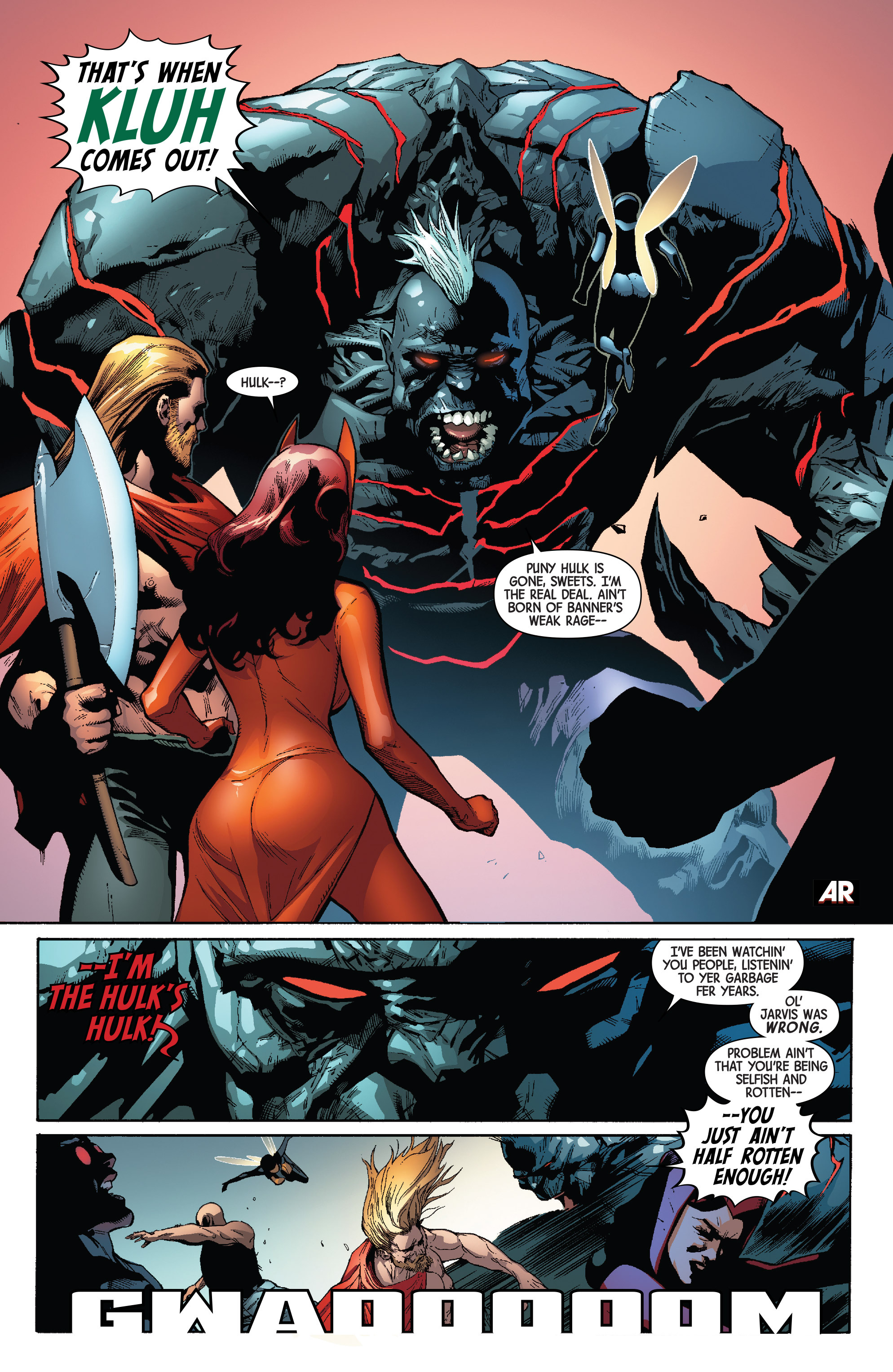 Read online Avengers & X-Men: AXIS comic -  Issue #4 - 23