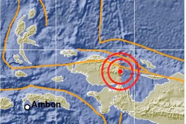 Manokwari Diguncang Gempa 6,1 SR