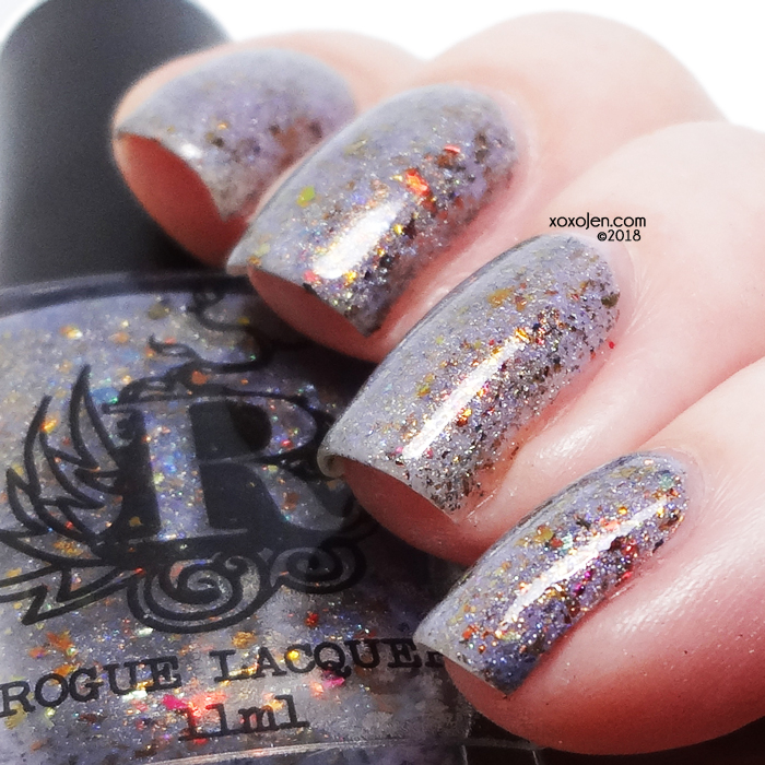 xoxoJen's swatch of Rogue Lacquer Desert at Dusk
