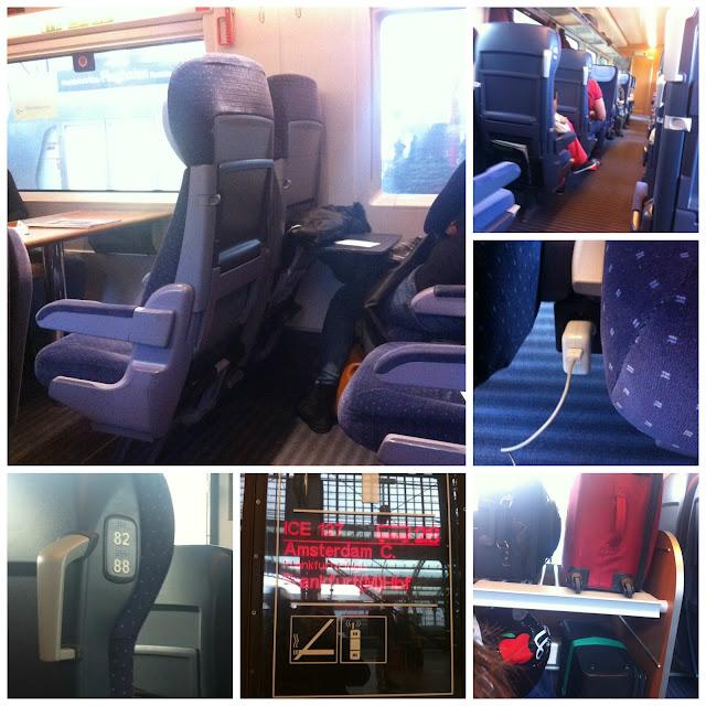 Viajando de trem na Alemanha