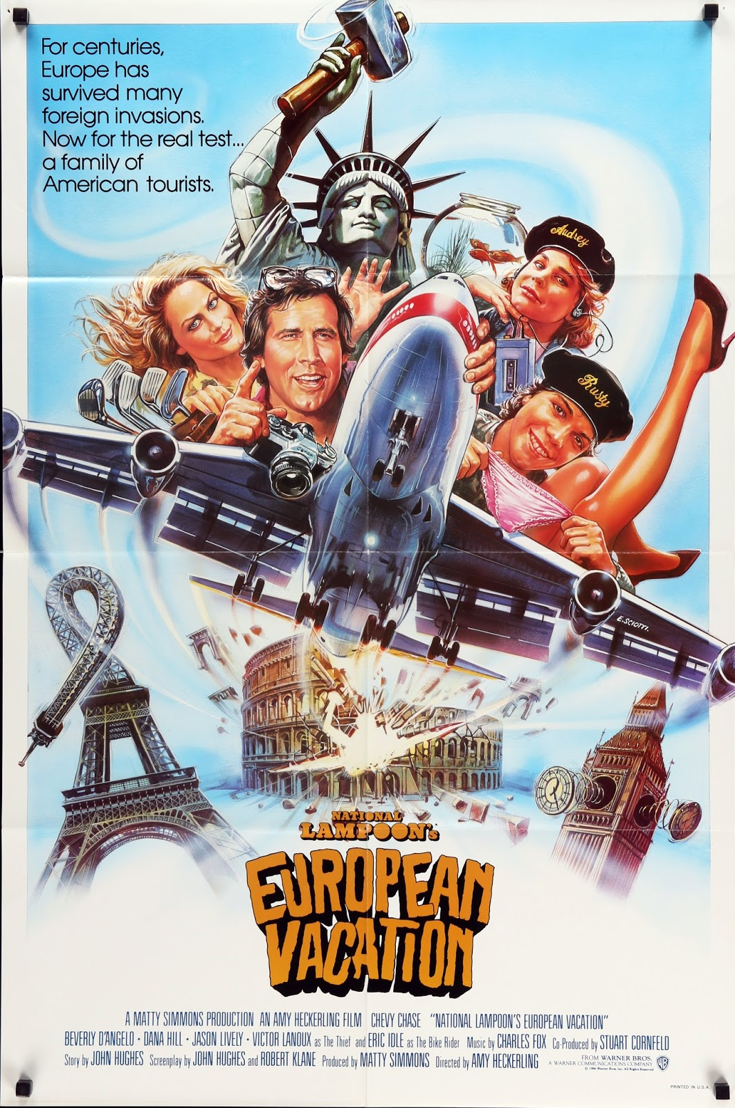Happyotter: NATIONAL LAMPOON'S EUROPEAN VACATION (1985