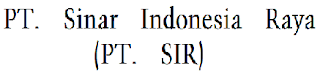 <img alt='Lowongan Kerja PT. Sinar Indonesia Raya (PT. SIR)' src='silokerindo.png'/>