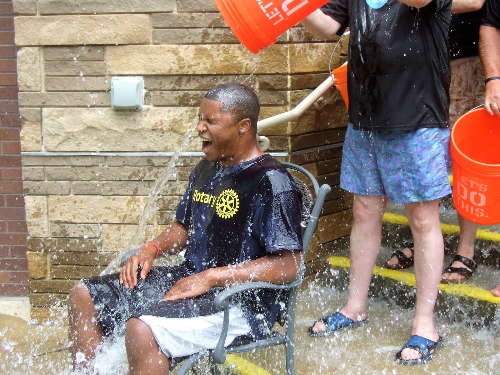 rotary district 6910 rotations canton rotarians take ice bucket