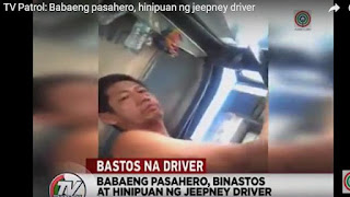 Jeepney Driver nang hipo, manyak Jeepney Driver; sexual harassment