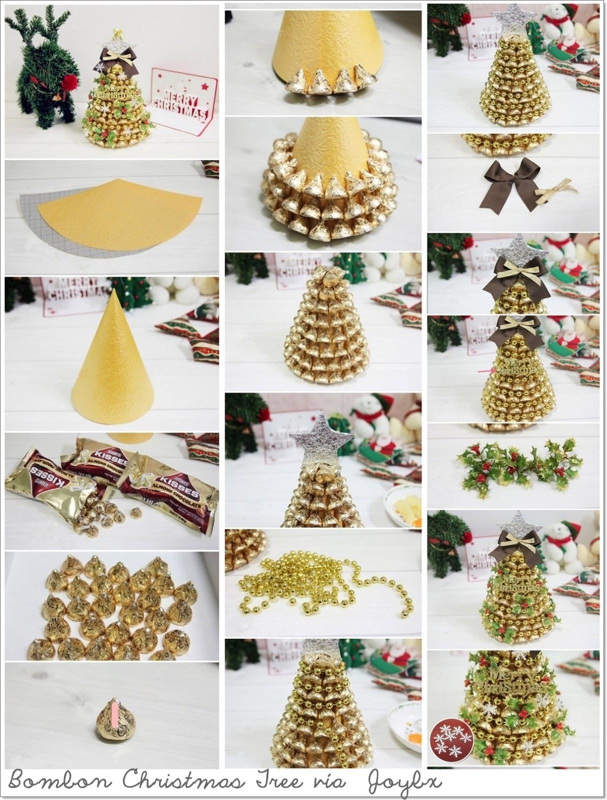 Las cosas de may diy manualidades y decoraci n 10 - Como se decora un arbol de navidad ...