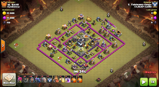 Gambar War TH8 Gowipe
