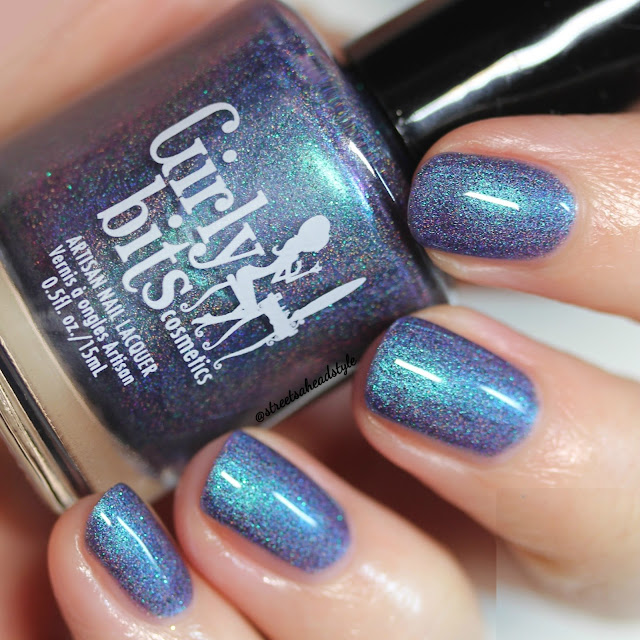 Girly Bits Blue Year's Resolution Nail Polish