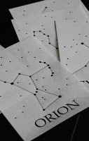 pattern of Orion constellation