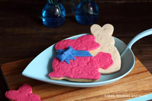 Ostercookies mit Fondant - Keks für Ostern