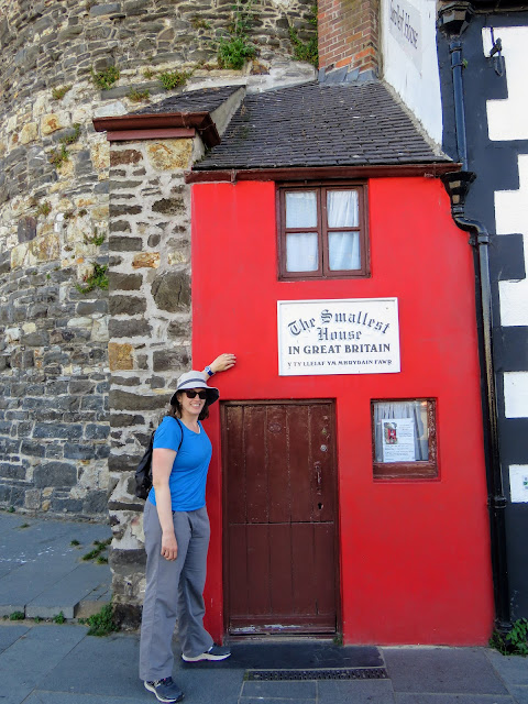 North Wales Points of Interest: The Smallest House in Great Britain in Conwy