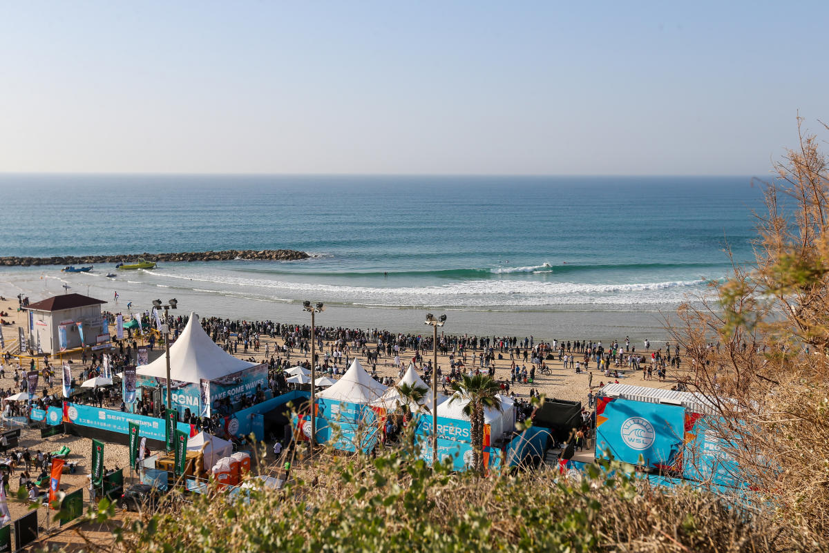 The SEAT PRO Netanya 2019 is ON! Follow LIVE Scores & updates @ wsl.tv/israel19 !!