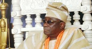 JUST IN : Oba Of Lagos, Rilwan Akiolu's Palace On Fire