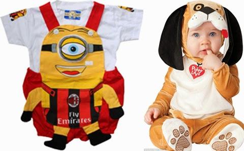 contoh baju anak balita lucu