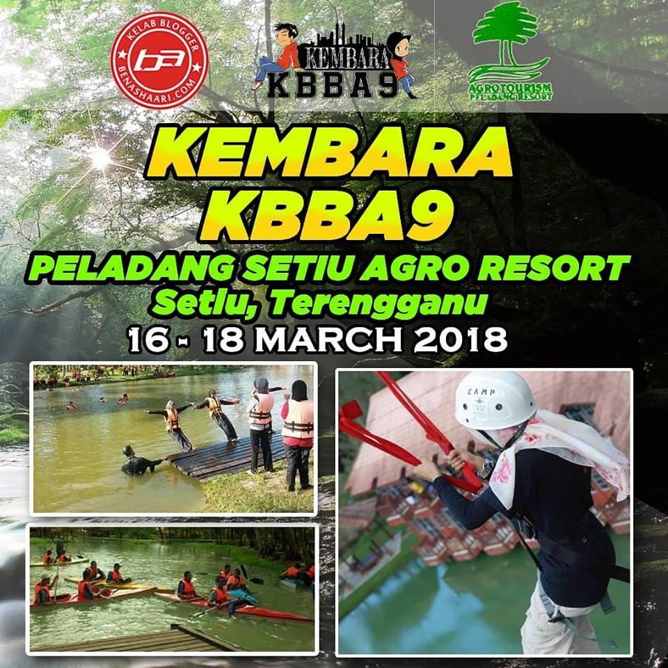 Kembara KBBA9 Ke Peladang Setiu Agro Resort - Part 1