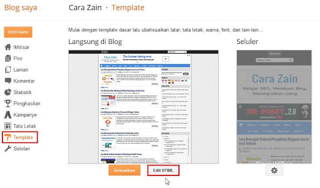 Cara Memasang Iklan Adsense Di Tengah Artikel Postingan Terbaru