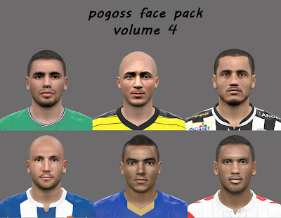 PES 2016 Facepack volume 4 by pogoss
