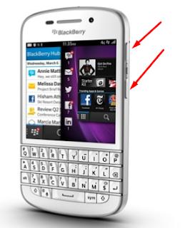 Cara Screenshoot Pada Hp Blackberry Q5, Q10, Z30 Dan Semua BB