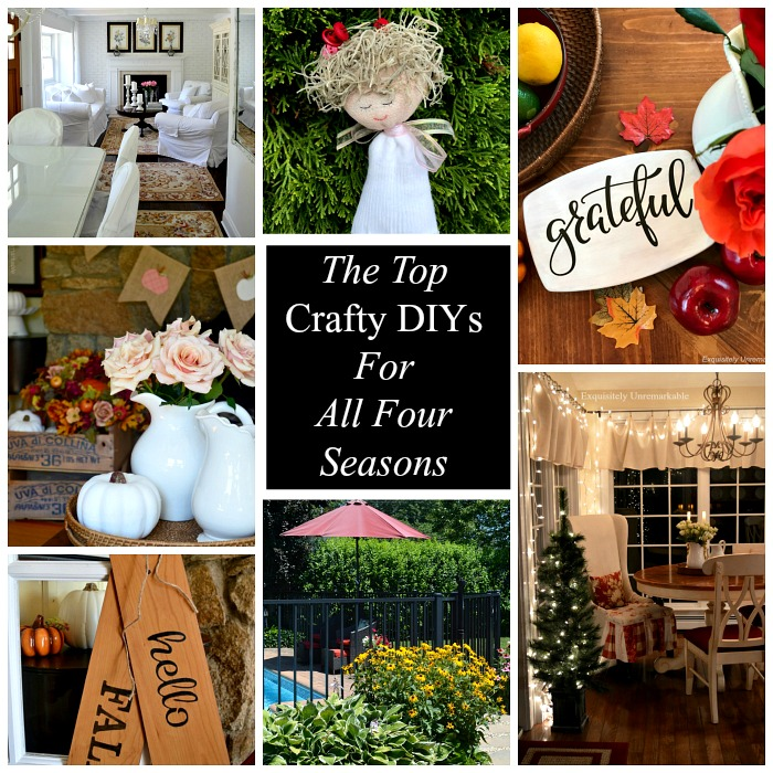 The Top Crafty DIYs For All Four Seasons
