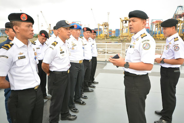 Komandan Satgas Nusantara 1 Sampaikan Briefing Pasukan
