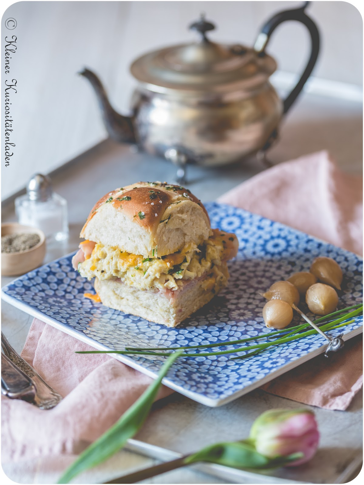 Hot Cross Bun Breakfast Sliders