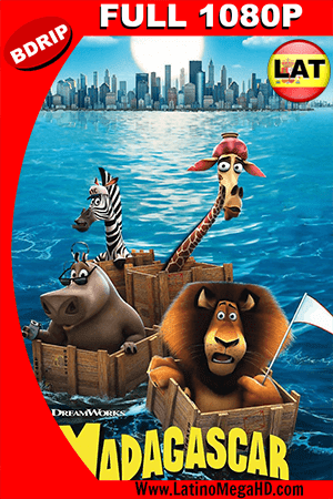 Madagascar (2005) Latino HD BDRIP 1080P ()