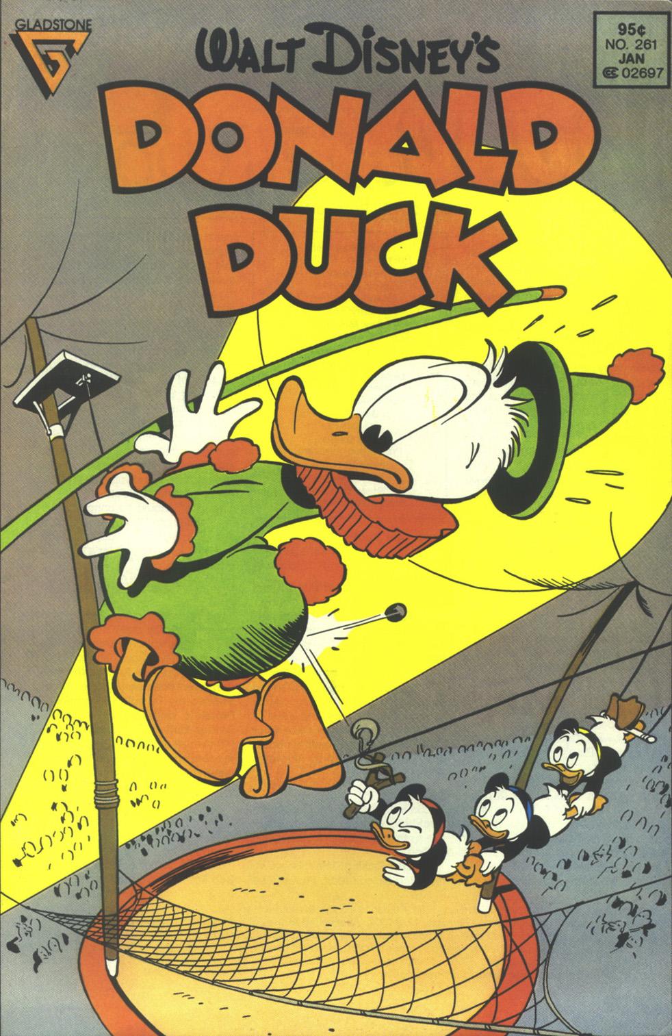 Walt Disneys Donald Duck (1986) issue 261 - Page 1