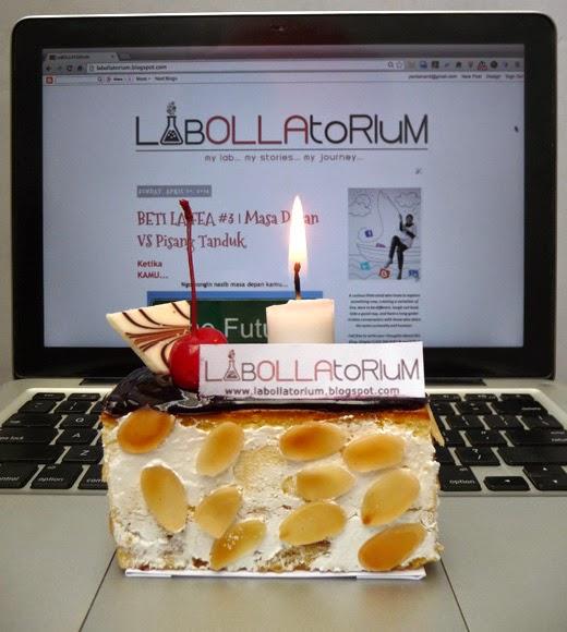 blogiversary labollatorium