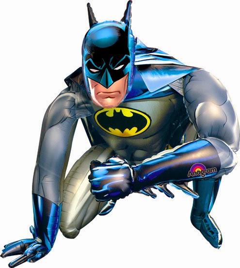 Шарик ходячая фигура Бетмен