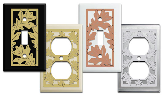 Oak Leaf Switch Plates & Outlet Covers | Fall Decor