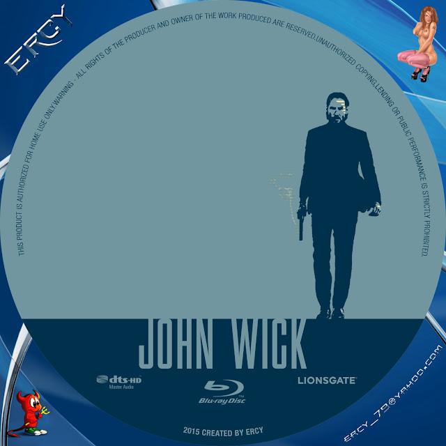 Label Bluray John Wick
