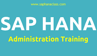 SAP HANA Administration Training