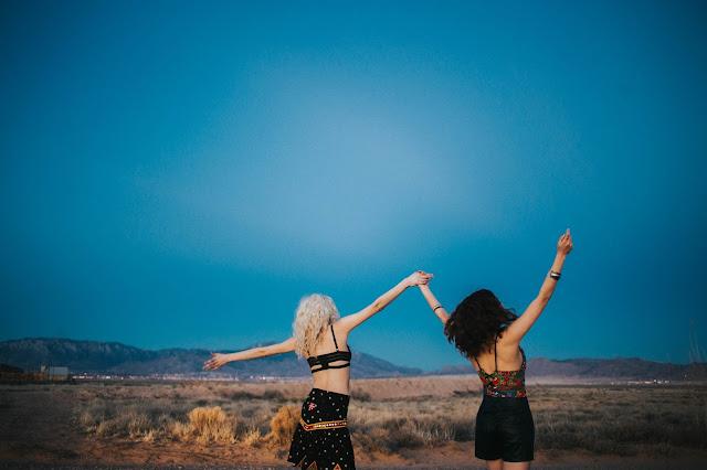 hippie girls sky models