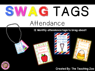https://www.teacherspayteachers.com/Product/SWAG-Brag-Tags-for-Attendance-2680107