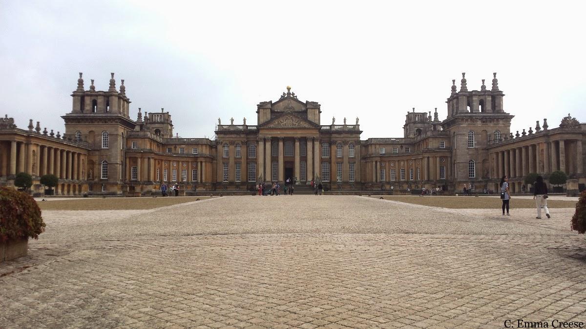 Fabric Sofa Pictures Casket Blenheim Palace, Bladon Churchyard, A Near Miss And ...