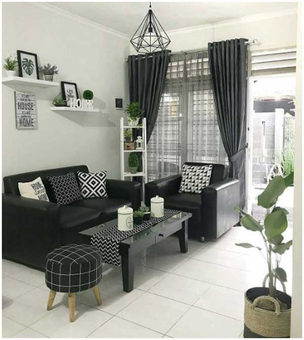 25 Contoh Gambar Konsep Desain Interior Rumah Minimalis