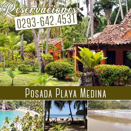 Playa Medina: Es una playa casi virgen y de gran belleza  en  Venezuela.