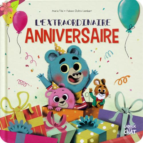 L'extraordinaire anniversaire de Marie Tibi et Fabien Ockto Lambert - Langue au chat